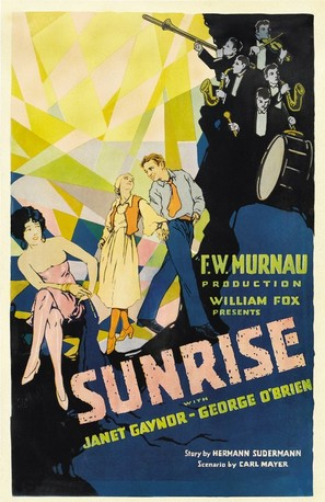 Sunrise: A Song of Two Humans - Movie Poster (thumbnail)