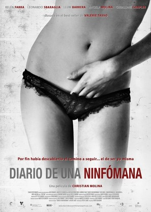 Diario de una ninfómana - Spanish Movie Poster (thumbnail)