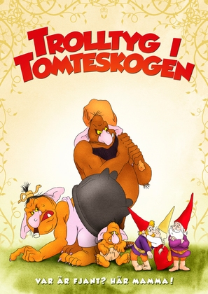 Gnomes - Swedish Movie Poster (thumbnail)