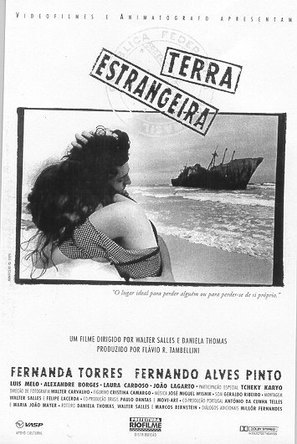 Terra Estrangeira - Brazilian Movie Poster (thumbnail)