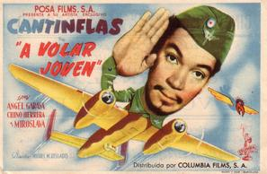 ¡A volar joven! - Spanish Movie Poster (thumbnail)