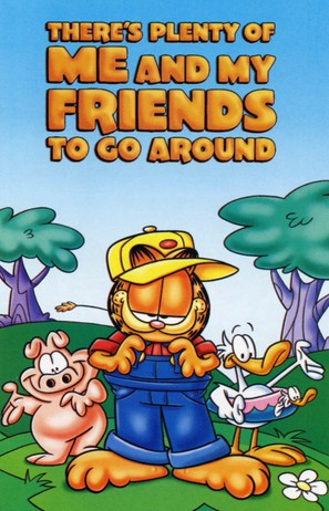 """Garfield and Friends"" - VHS cover (thumbnail)"