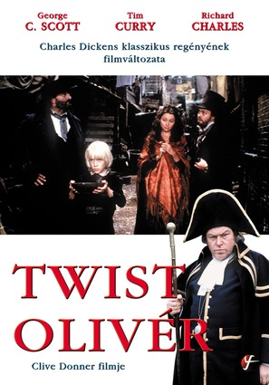 Oliver Twist - Hungarian DVD cover (thumbnail)