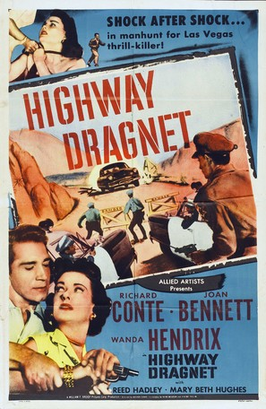 Highway Dragnet - Movie Poster (thumbnail)