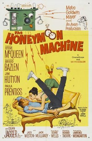 The Honeymoon Machine - Movie Poster (thumbnail)