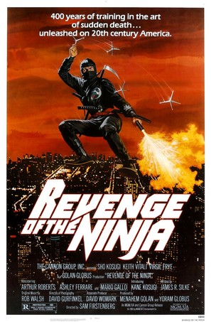 Revenge Of The Ninja - Movie Poster (thumbnail)