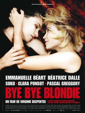Bye Bye Blondie - French Movie Poster (thumbnail)