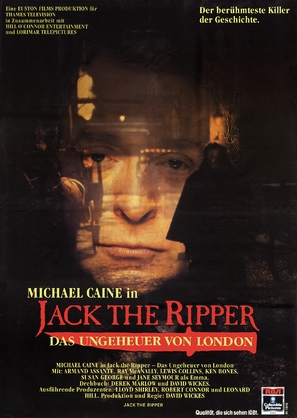 Jack the Ripper - German Movie Poster (thumbnail)