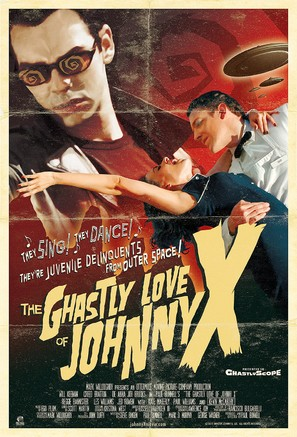 The Ghastly Love of Johnny X - Movie Poster (thumbnail)