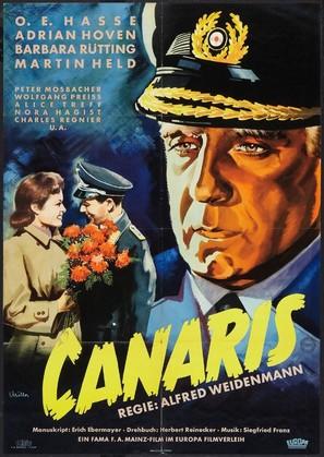 Canaris - German Movie Poster (thumbnail)