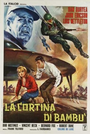 The Bamboo Saucer - Italian Movie Poster (thumbnail)
