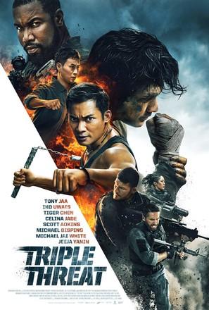 Triple Threat - Movie Poster (thumbnail)