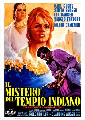Il mistero del tempio indiano - Italian Movie Poster (thumbnail)