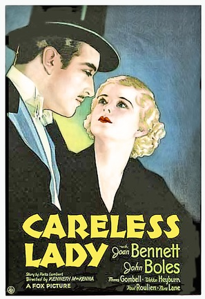 Careless Lady - Movie Poster (thumbnail)