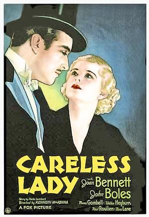 Careless Lady - Movie Poster (thumbnail)