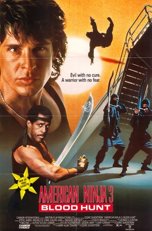 American Ninja 3: Blood Hunt - Movie Poster (thumbnail)
