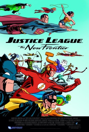 Justice League: The New Frontier - Movie Poster (thumbnail)