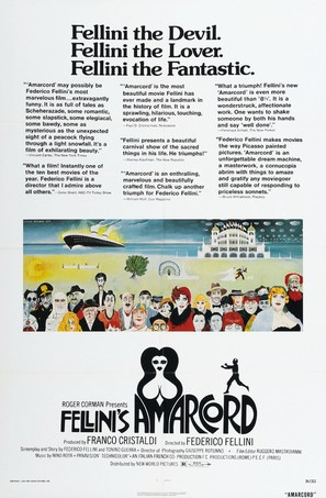 Amarcord - Movie Poster (thumbnail)