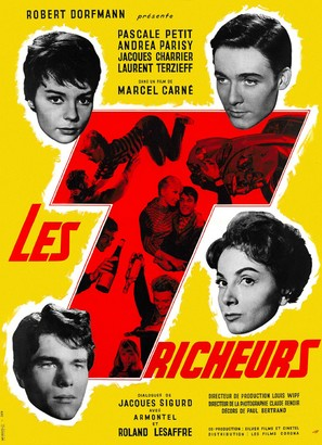 Les tricheurs - French Movie Poster (thumbnail)