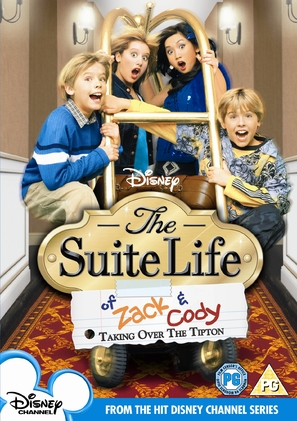 """The Suite Life of Zack and Cody"" - British DVD movie cover (thumbnail)"