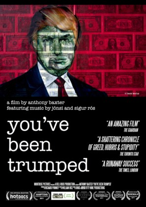 You've Been Trumped - British Movie Poster (thumbnail)