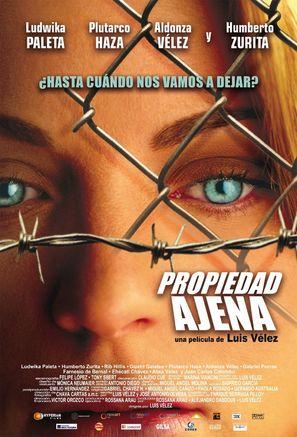 Propiedad ajena - Mexican poster (thumbnail)