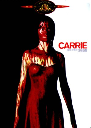Carrie - DVD movie cover (thumbnail)