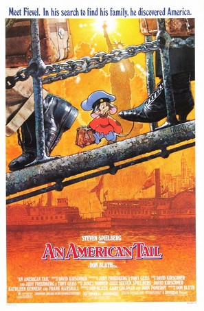 An American Tail - Movie Poster (thumbnail)