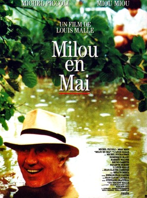 Milou en mai - French Movie Poster (thumbnail)