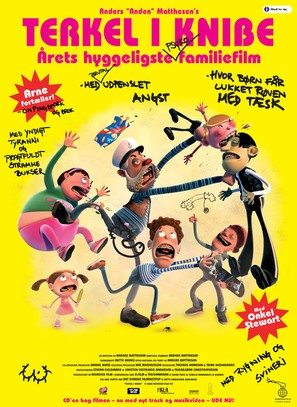 Terkel In Trouble - Danish Movie Poster (thumbnail)