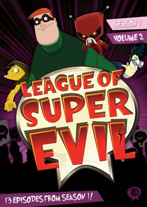 """The League of Super Evil"" - DVD cover (thumbnail)"