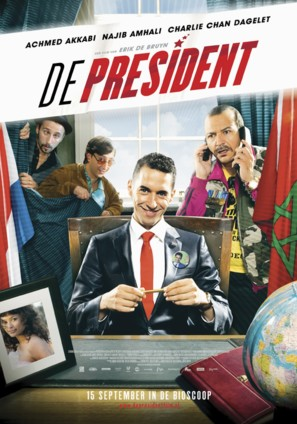 De president - Dutch Movie Poster (thumbnail)