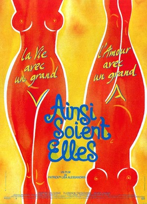 Ainsi soient-elles - French Movie Poster (thumbnail)