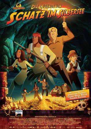 WinneToons - Die Legende vom Schatz im Silbersee - German Movie Poster (thumbnail)
