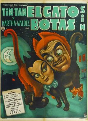 Gato sin botas, El - Mexican Movie Poster (thumbnail)