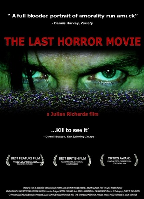 The Last Horror Movie - Movie Poster (thumbnail)