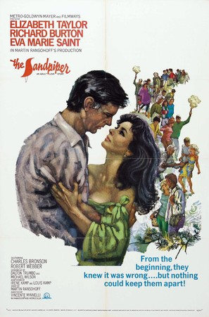 The Sandpiper - Movie Poster (thumbnail)