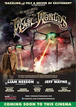 Jeff Wayne's Musical Version of the War of the Worlds Alive on Stage! The New Generation - British Movie Poster (thumbnail)