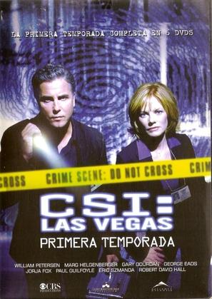 """CSI: Crime Scene Investigation"" - Argentinian DVD movie cover (thumbnail)"
