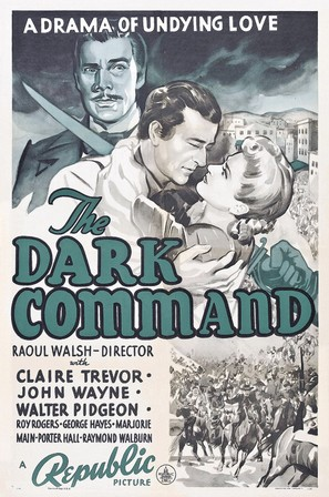 Dark Command - Theatrical movie poster (thumbnail)