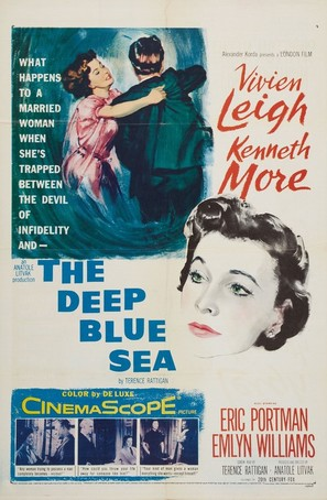 The Deep Blue Sea - Movie Poster (thumbnail)