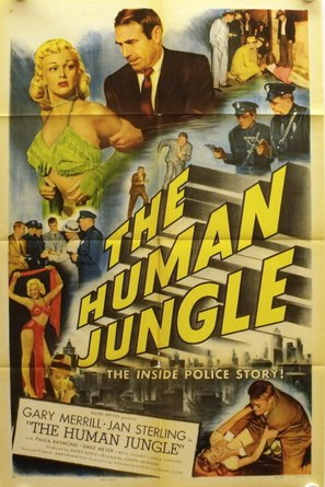 The Human Jungle - Movie Poster (thumbnail)