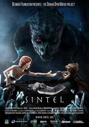 Sintel - Dutch Movie Poster (thumbnail)