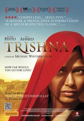 Trishna - Australian Movie Poster (thumbnail)
