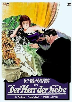 Der Herr der Liebe - German Movie Poster (thumbnail)
