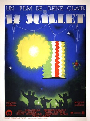 Quatorze Juillet - French Movie Poster (thumbnail)