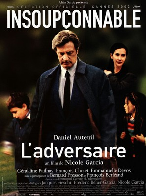 L'adversaire - French Movie Poster (thumbnail)