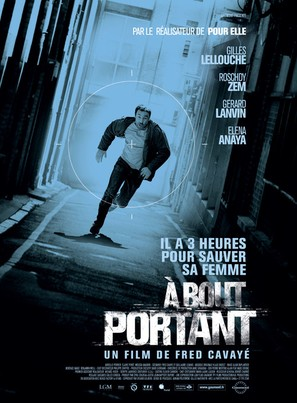 À bout portant - French Movie Poster (thumbnail)