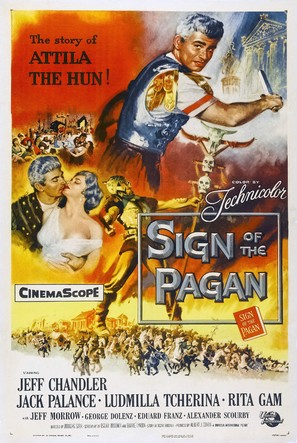 Sign of the Pagan - Movie Poster (thumbnail)