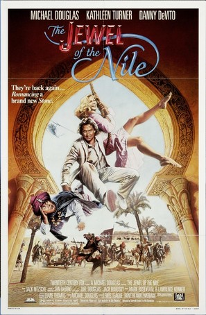 The Jewel of the Nile - Movie Poster (thumbnail)